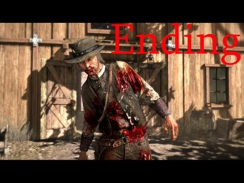 Red Dead Redemption Ending John Marston S Death Hd Red Dead