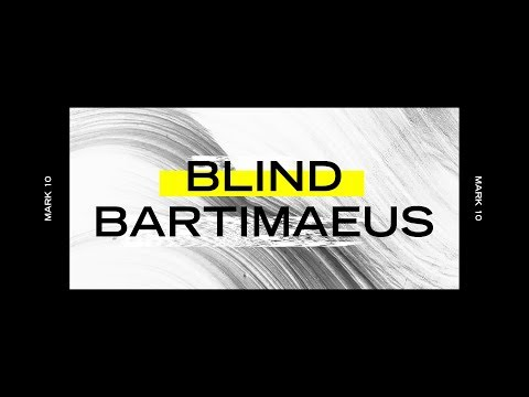 Blind Bartimaeus with Sam Roberts