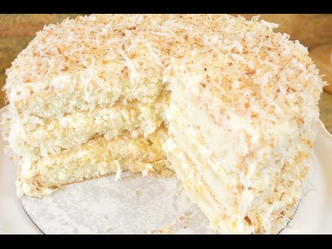 Southern Coconut Pineapple Cake Recipe- Fluffy Coconut & Pineapple REALNESS |Cooking With Carolyn