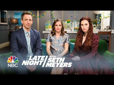 Melisandre at a Baby Shower - Late Night with Seth Meyers - UCVTyTA7-g9nopHeHbeuvpRA