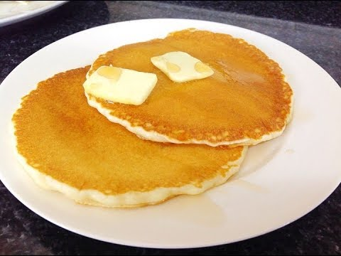 Pancakes Recipe   Light And Fluffy Pancakes By (HUMA IN THE KITCHEN)