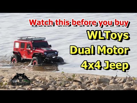 Watch This Before you buy Wltoys 104311 4X4 Crawler Dual Motor RC Jeep - UCsFctXdFnbeoKpLefdEloEQ