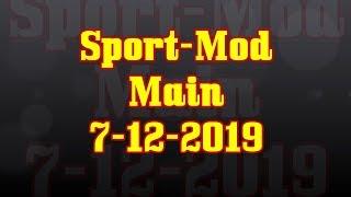 Sport-Mod Main from 7-12-2019 Race @ Diamond Mountain Speedway