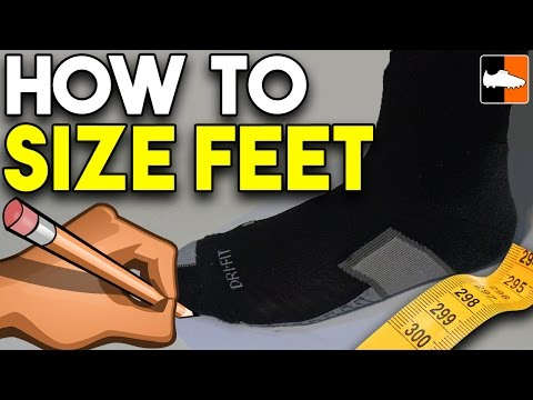 How to Measure Your Foot Size - Do You Have Wide or Narrow Feet? - UCs7sNio5rN3RvWuvKvc4Xtg