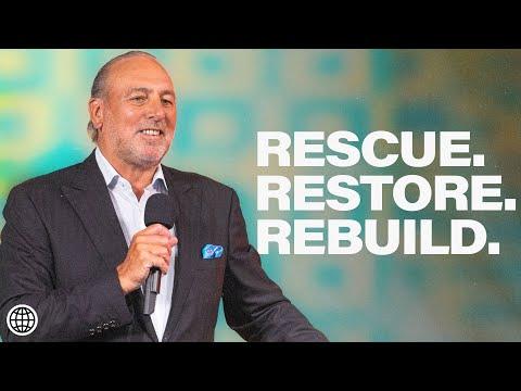 Rescue Restore Rebuild  Brian Houston  Hillsong Church Online