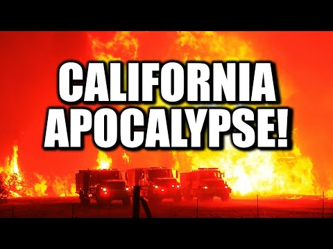 Breaking End Times Alert: California APOCALYPSE!! - A Prophetic WARNING of Things to Come?