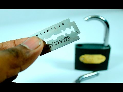 how to open a lock without a key easy || 2 simple lock Life Hacks anyone can do it - UC6afsoEFhoj7t94TYnW_DpQ