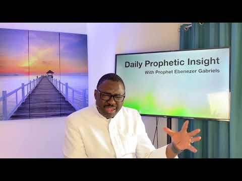 Prophetic Insight Jun 1st, 2021