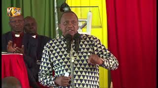 Change lifestyle, keep cancer away : President Kenyatta cautions Kenyans