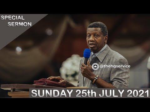 PASTOR E.A ADEBOYE SERMON - RCCG 11th JULY SPECIAL SERVICE