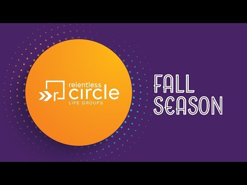 Fall Circle Groups - Week 3