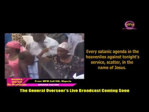 IGBO MFM SPECIAL MANNA WATER SERVICE WEDNESDAY JULY 8TH 2020