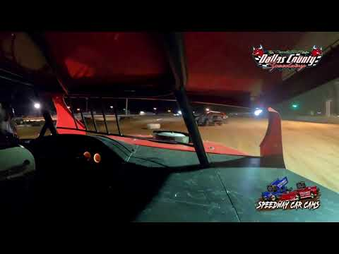 #00 Ryan Larsen- Midwest Mod - 8-27-2021 Dallas County Speedway - In Car Camera - dirt track racing video image