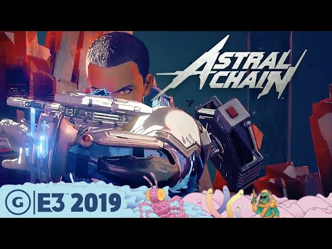 Astral Chain Live Gameplay Demo: The Wildest Action We've Seen | E3 2019 - UCbu2SsF-Or3Rsn3NxqODImw