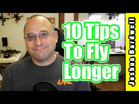Quadcopter Long Flight Time | TEN TIPS TO FLY FPV LONGER - UCX3eufnI7A2I7IkKHZn8KSQ