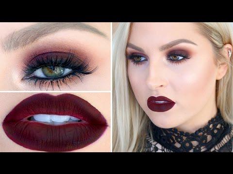 Seductive Burgundy Eye & Lip Makeup! ♡ Get Ready With Me - UCMpOz2KEfkSdd5JeIJh_fxw