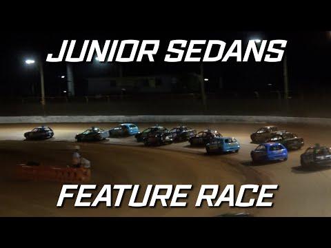 Junior Sedans: Pro1 Top Star Series - A-Main - Maryborough Speedway - 25.09.2021 - dirt track racing video image