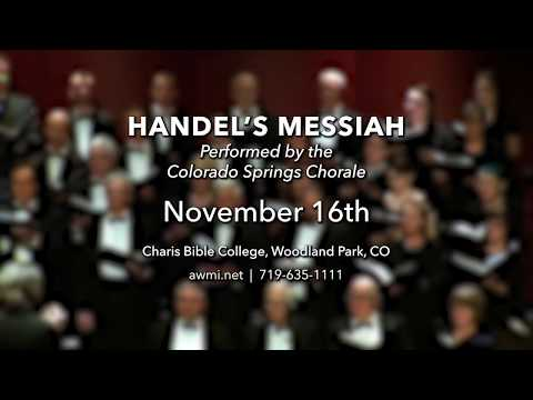 Handels Messiah at Charis Bible College