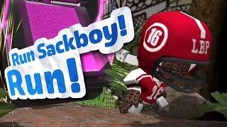 Run Sackboy! Run! - Bashing Sacks [iOS Gameplay, Walkthrough]