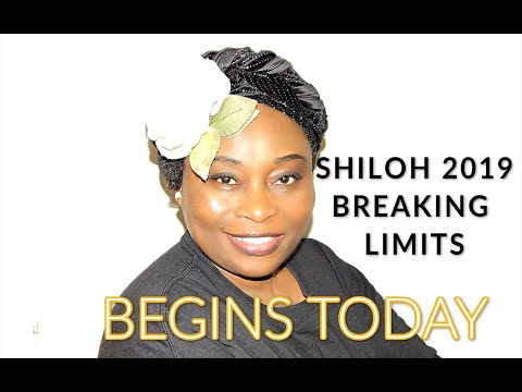 Shiloh 2019 Breaking Limits Begins Today Dec.3,2019