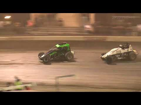 USAC West Coast Sprint Car Highlights | Bakersfield Speedway | 9/18/2021 - dirt track racing video image