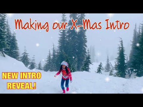 NEW CHRISTMAS INTRO REVEAL *The Nev Fam* Christmas Vlog | Vlogmas on Mount Rainier