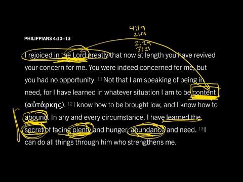 Philippians 4:1013 // Part 5 // The Secret of Christ-Exalting Contentment
