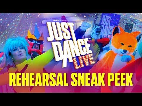 JUST DANCE LIVE – Rehearsal Sneak Peek - default