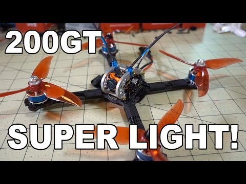 LDARC (KingKong) 200GT Super Light 5-inch Quad Review  - UCnJyFn_66GMfAbz1AW9MqbQ