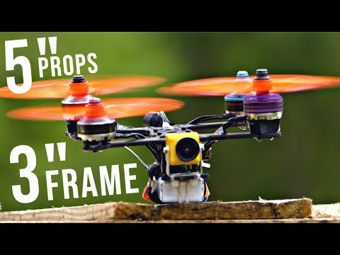 """5"""" Micro Drone...Wait, WHAT?? 😳 Propellers TOO BIG for Quadcopter Frame - UCOI2RK-MDHtsBzz9IX_6F1w"""
