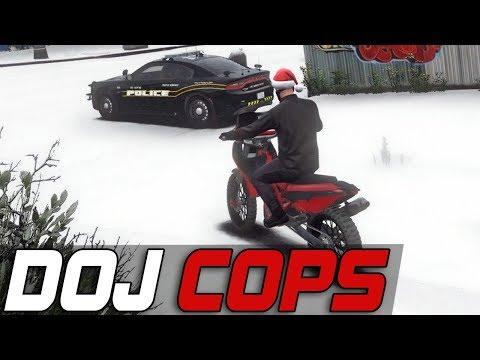 Dept  of Justice Cops #388 - Bike Wheelies (Criminal) - VidVui