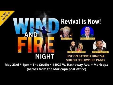 Wind & Fire // Pentecost Sunday // Patricia King