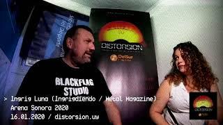 Entrevista a Ingrig Luna en Arena Sonora 2020