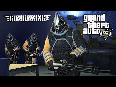 gta v gun running dlc release date