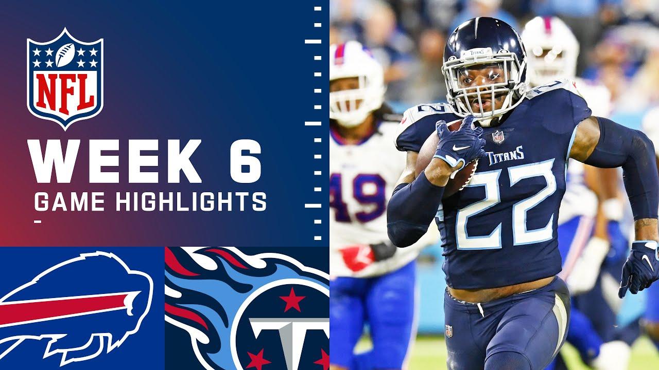 Bills vs. Titans Week 6 Highlights | NFL 2021