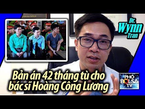 Bác sĩ ở Mỹ nói về bản án 42 tháng tù dành cho bác sĩ Hoàng Công Lương