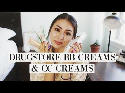 Drugstore BB Creams & CC Creams | Review & Comparisons!