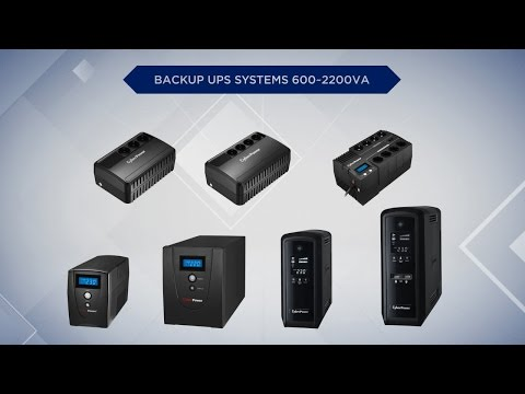 CyberPower Backup UPS Systems Product Introduction - UCnHc5xS37EbVHdBW6IkA0Qw