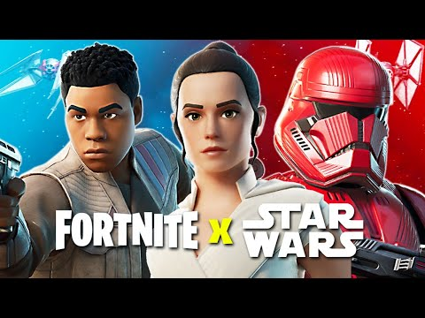 FORTNITE x STAR WARS! (Fortnite Battle Royale) - UC2wKfjlioOCLP4xQMOWNcgg