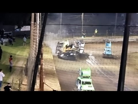 Oceanview Speedway - Opening night Superstocks & Grand slam race - 23/10/2021 - dirt track racing video image