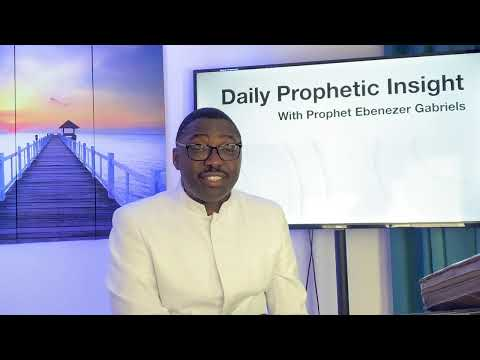Prophetic Insight August 27,2021