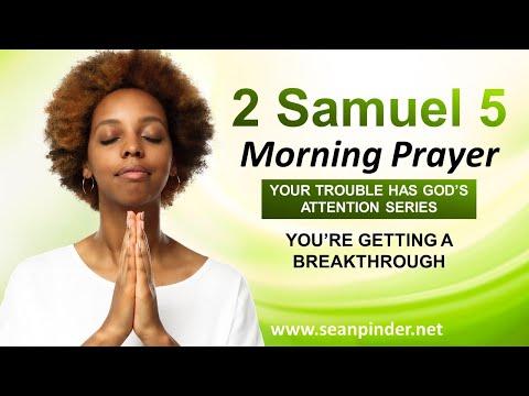 You're Getting a BREAKTHROUGH - Morning Prayer