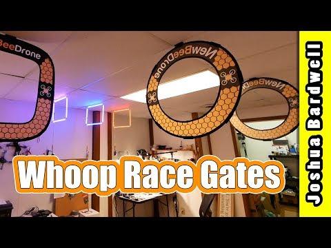Tiny Whoop Gates | RACEDAYQUADS NEWBEEDRONE TBS LED GATES - UCX3eufnI7A2I7IkKHZn8KSQ