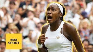Cori 'Coco' Gauff: The 15-year-old who lit up Wimbledon 2019 | BBC Sport