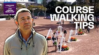 Course walking tips w/ Guilherme Jorge |Longines FEI Jumping World Cup™ NAL