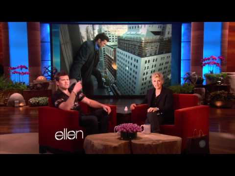 Sam Worthington Loves Skymall at The Ellen Show