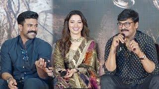 Chiranjeevi's Back 2 Back FUNNY Hilarious Moments Wid Ram Charan @Sye-Raa-Narasimha-Reddy-Teaser