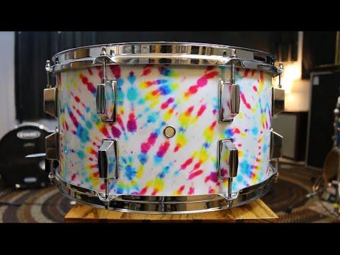 """16"""" Tie Dye Snare Drum Build - default"""