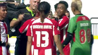 Indonesia v Scotland | Referee awards fair play at end of match! | Homeless World Cup 2019