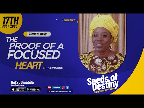Dr Becky Paul-Enenche - SEEDS OF DESTINY - FRIDAY JULY 17, 2020
